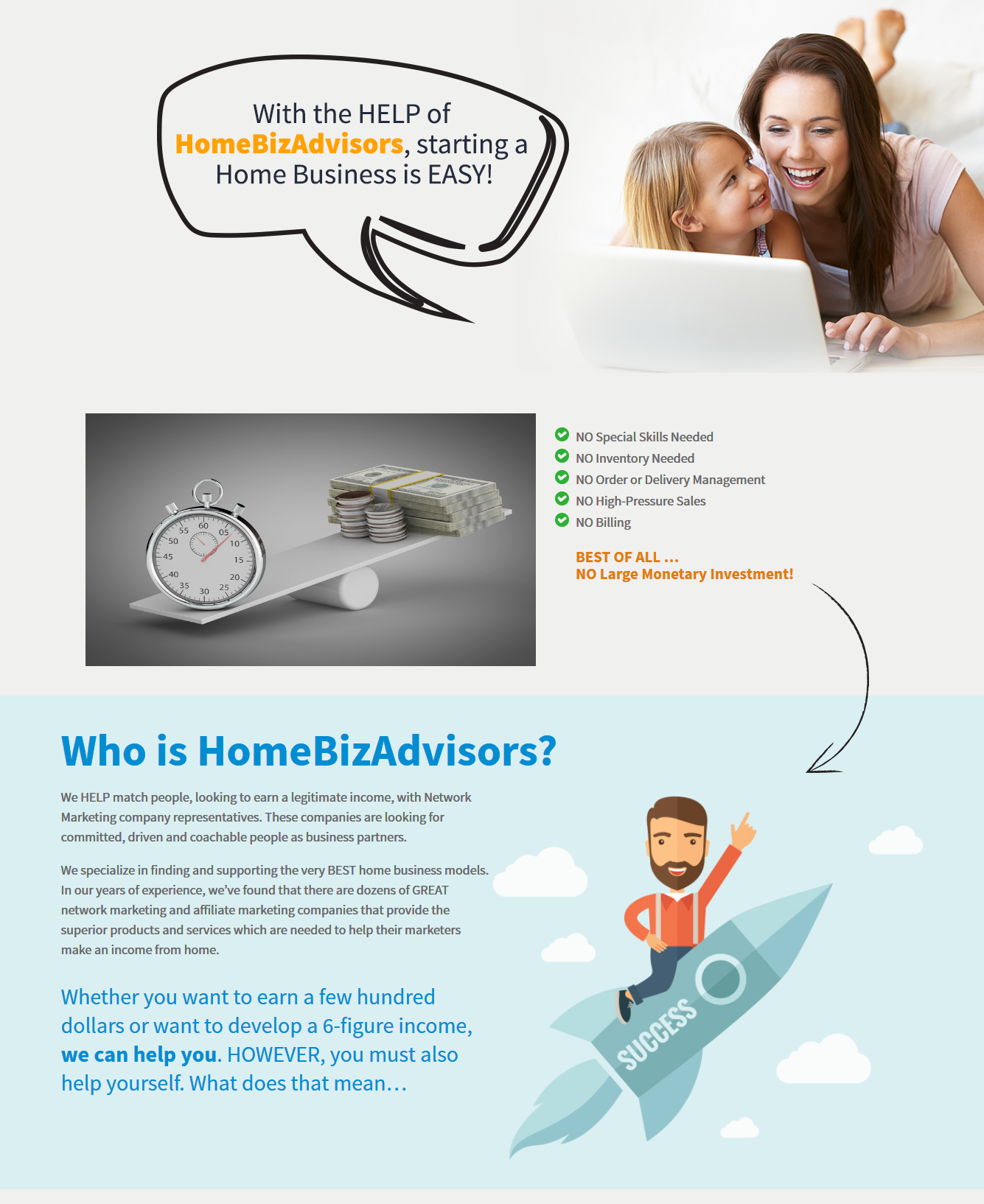 home business ad