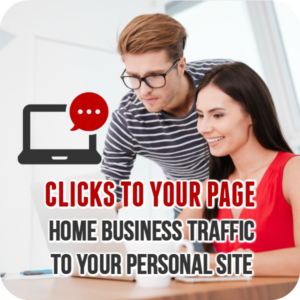 Clicks to Your Page